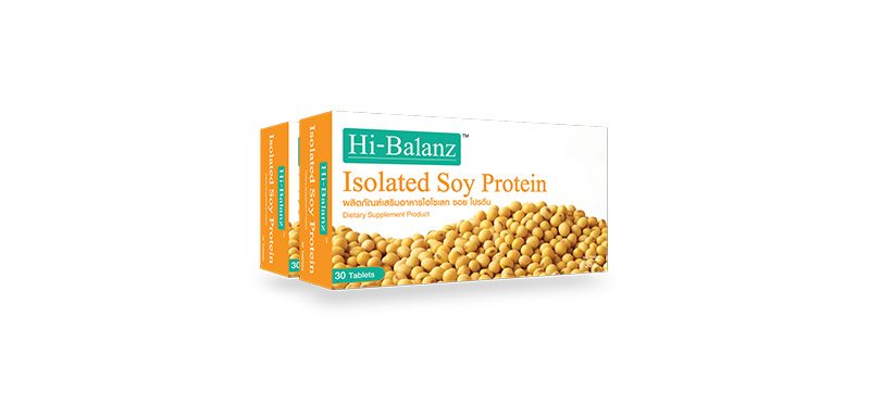 Hi-Balanz Isolated Soy Protein (30Tabletsx2pcs)