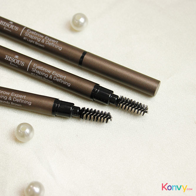 Bisous Bisous Eyebrow Expert Shaping & Defining #3 Burgundy_2