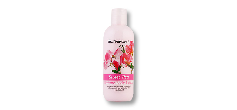 St. Andrews Sweet Pea Perfume Body Lotion 250ml