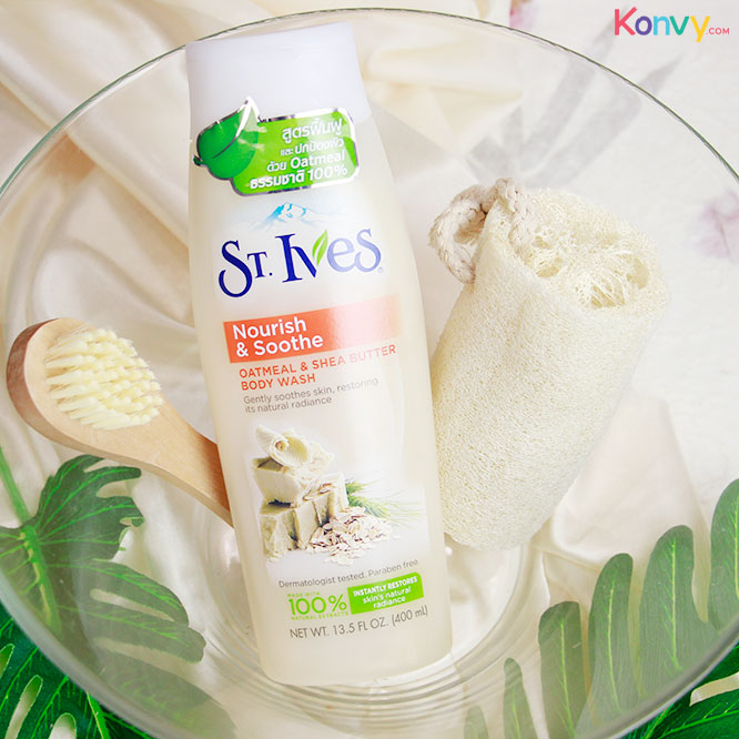 St.Ives Oatmeal Shea Butter Body Wash 400ml_1