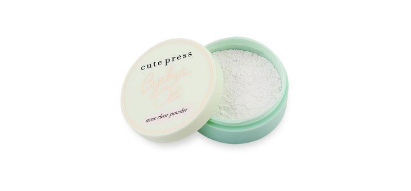 Cute Press Bye Bye Oil 6g #Acne Clear Powder