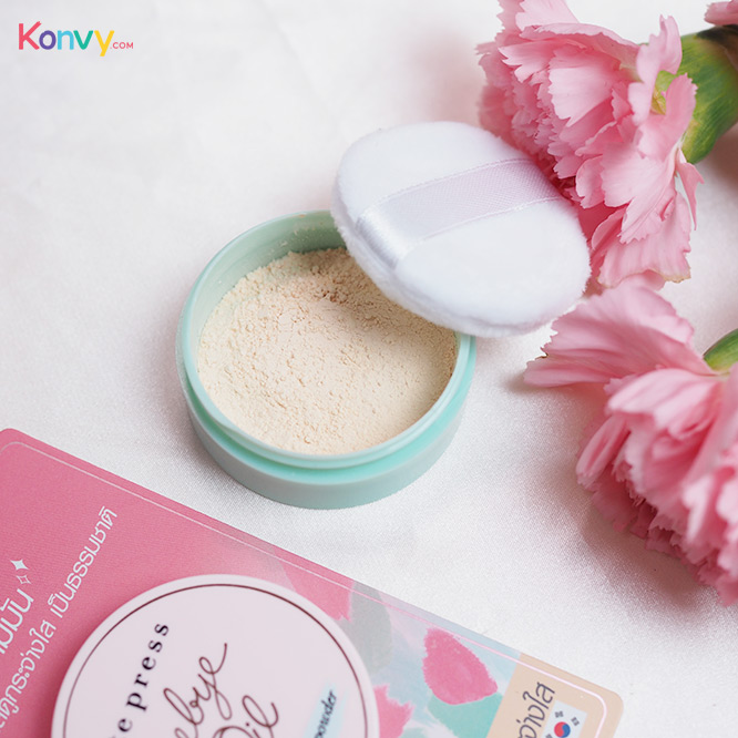 Cute Press Bye Bye Oil 6g #Natural White Powder_3