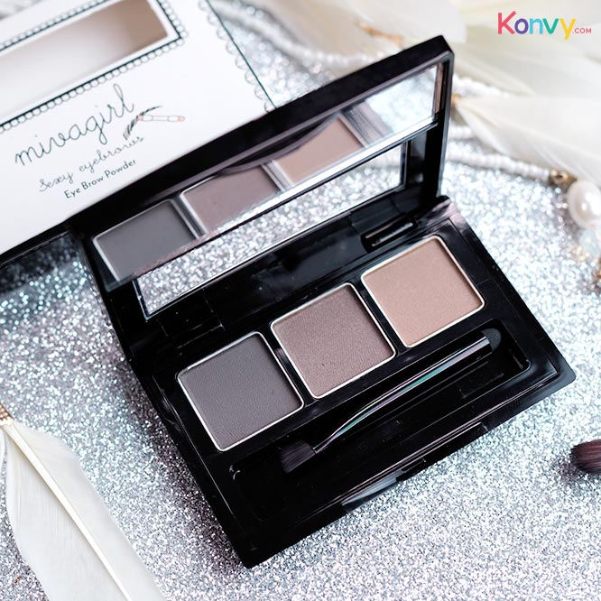 Mivagirl Sexy Eyebrows Eye Brow Powder #M-06-01_2