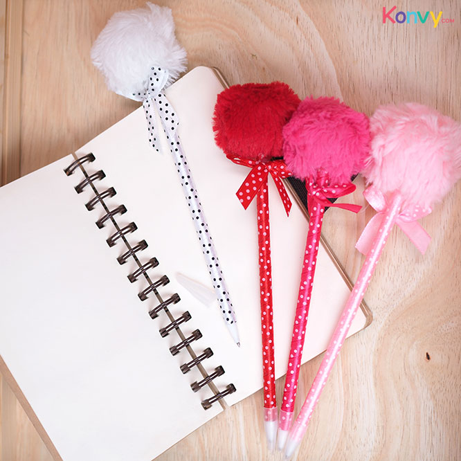 Ter Cute Pen (#Red #Pink #White - Random 1pcs)_1