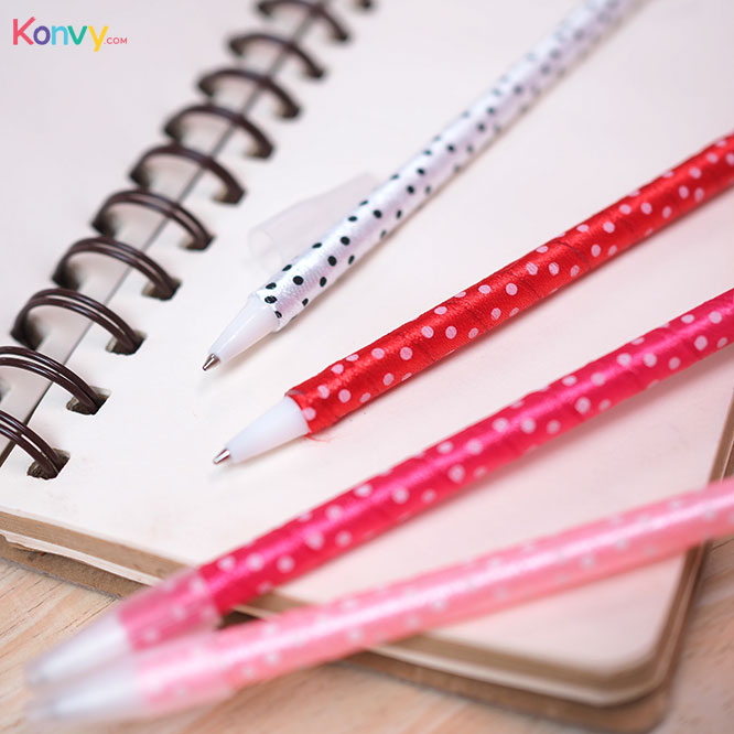 Ter Cute Pen (#Red #Pink #White - Random 1pcs)_2