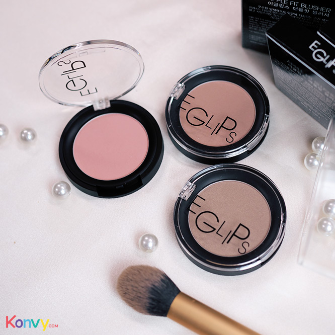 Eglips Apple Fit Blusher #08 Sand Pink_2