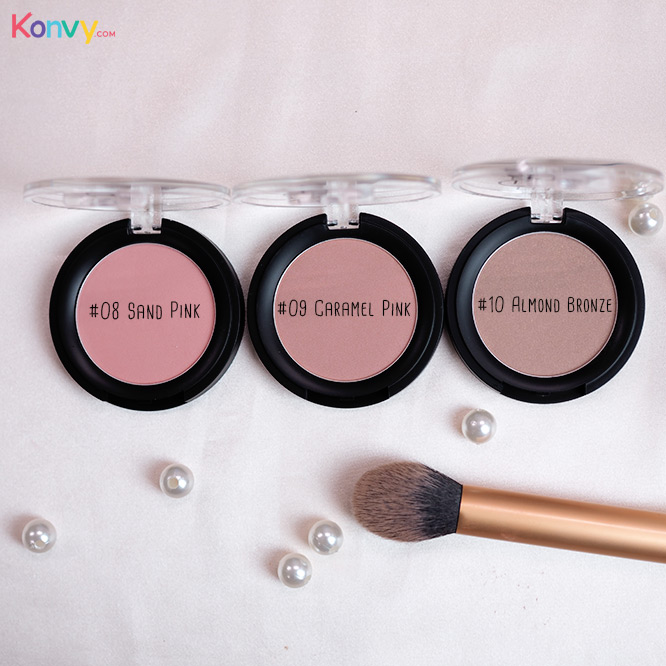 Eglips Apple Fit Blusher #08 Sand Pink_3