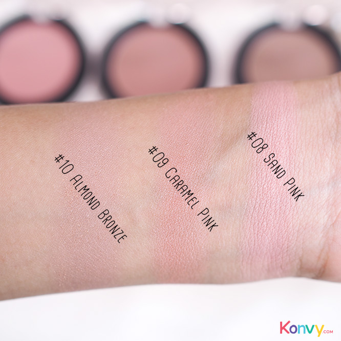 Eglips Apple Fit Blusher #08 Sand Pink_4