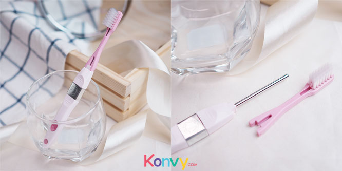 Sparkle Ionic Toothbrush Refill # Pink (SK0298)_4