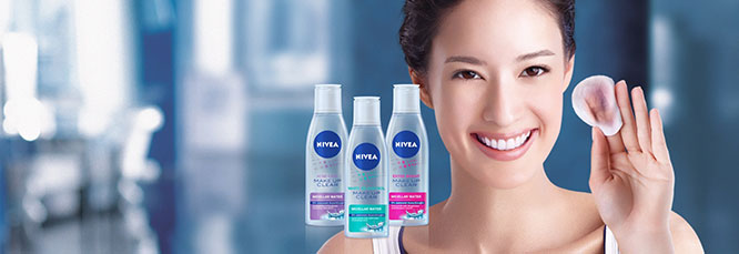 NIVEA White Oil Control Make Up Clear Micellar Water 200ml_1