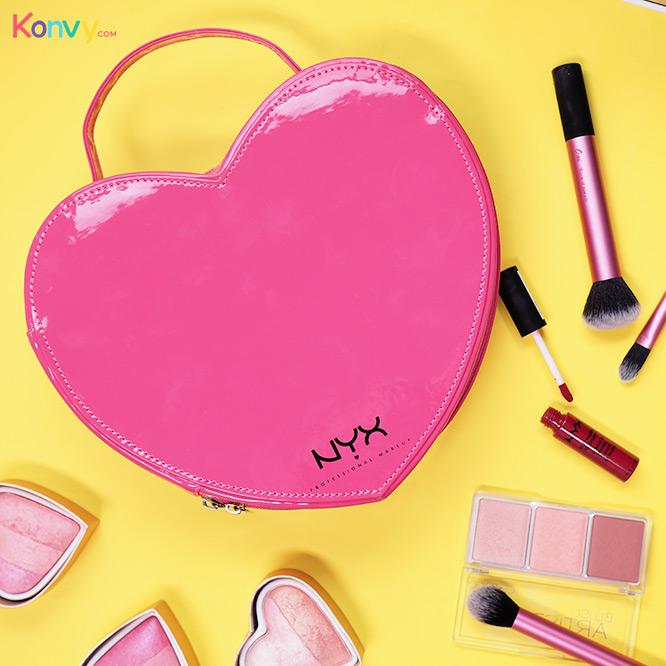 NYX Heart Shaped Bag #Pink_1