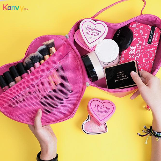 NYX Heart Shaped Bag #Pink_2