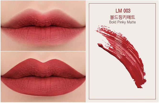 Eglips Lively Lip Matte 5g #LM003 Bold Pinky_2