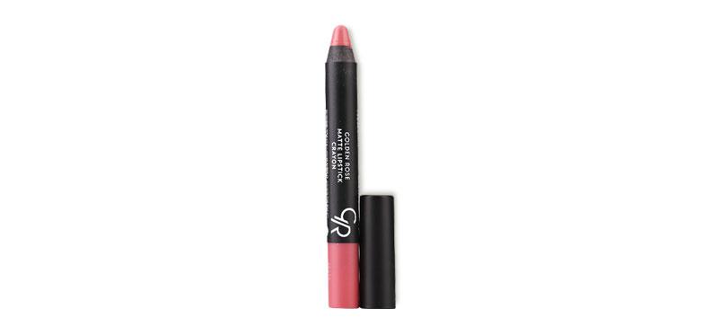 Golden Rose Matte Lipstick Crayon #22