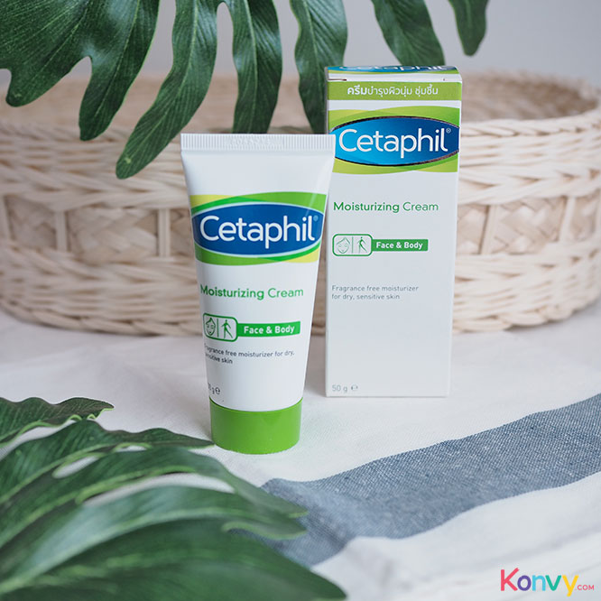 Cetaphil Moisturizing Cream For Chronic Dry,Sensitive Skin_1