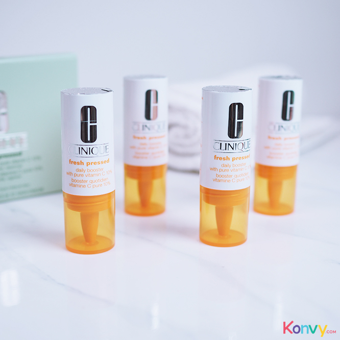 Clinique Fresh Pressed Daily Booster With Pure Vitamin C 10% (8.5mlx4pcs)_1