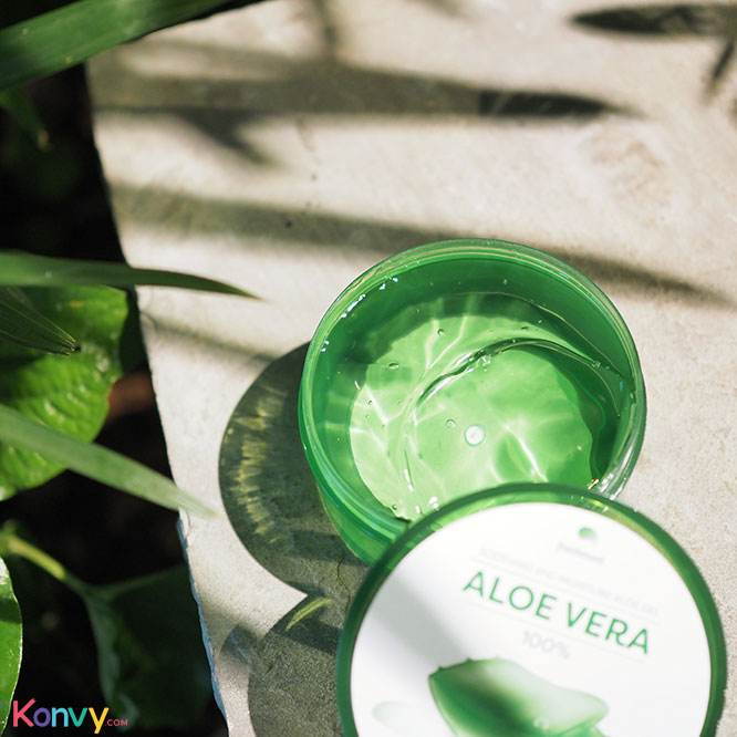 แพ็คคู่ Freshment Soothing And Moisture Aloe Gel (300ml x 2pcs)_1