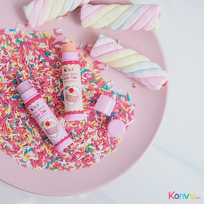 Ka Magic Balm Butter Cake SPF20/PA+++ 5g #Berry Chiffon_1