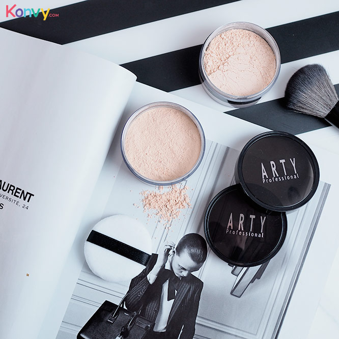 Arty Professional Translucent Loose Powder #C1_2