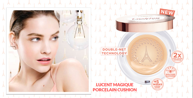 L'Oreal Paris Lucent Magique Porcelain Cushion SPF 33/PA++ #N4_1