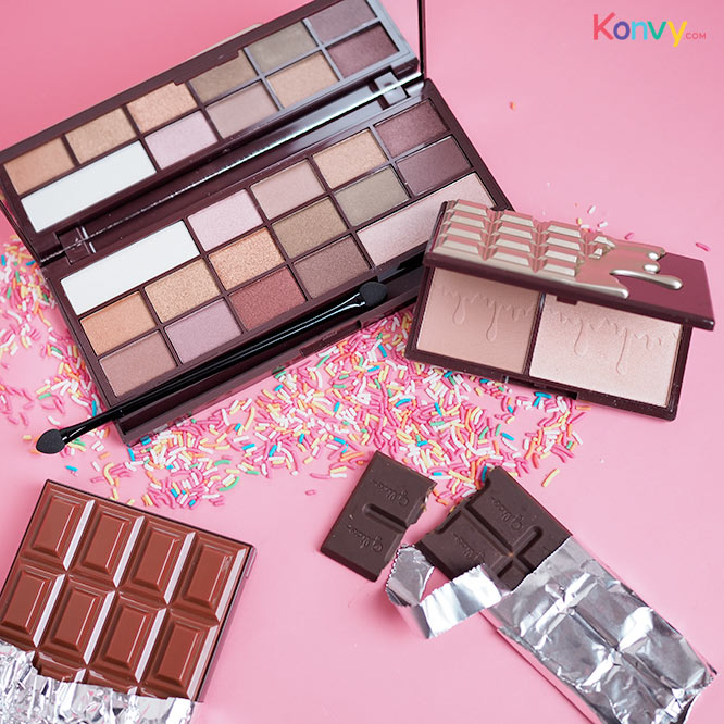 Makeup Revolution I Love Make Up 16 Eyeshadows Inspired By Our Obsession With Chocolate #Golden Bar