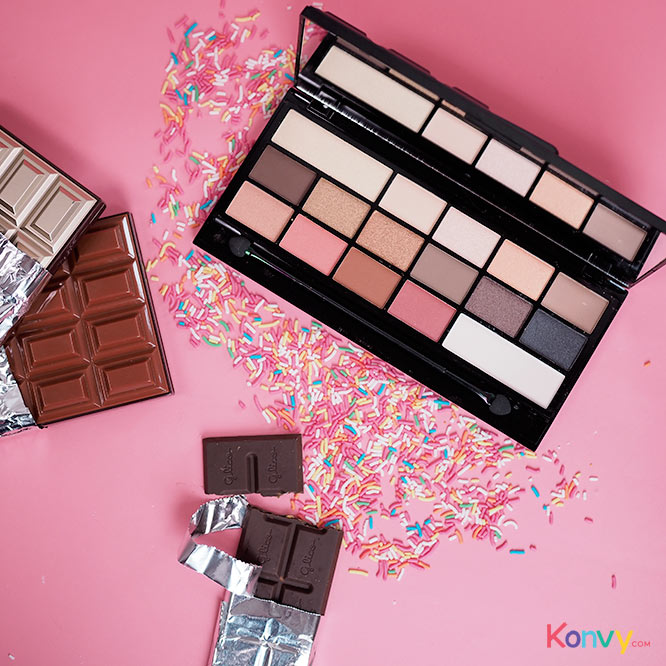 Makeup Revolution I Love Make Up 16 Eyeshadows Inspired By Our Obsession With Chocolate #Chocolate Vice