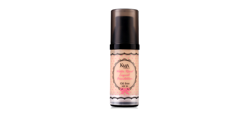 KMA Water Resist Liquid Foundation #OF Medium beige