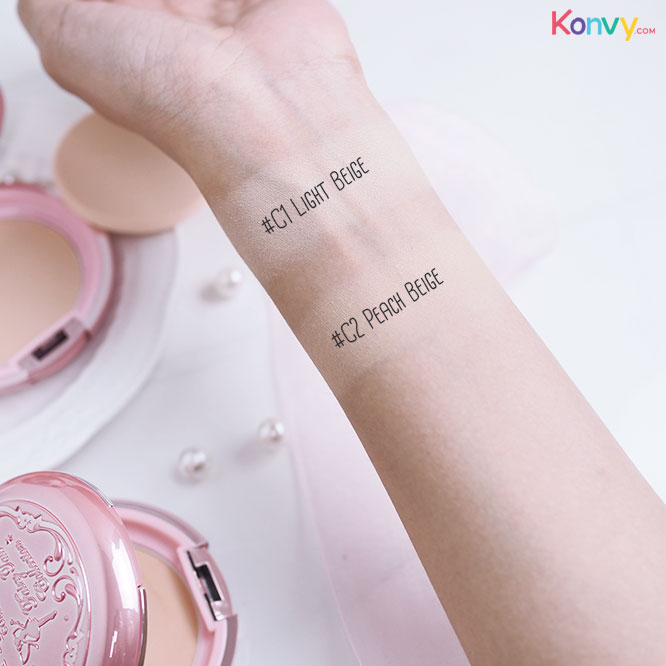 KMA Beloved Cake Powder SPF 25 PA++ #C1 Light Beige_2