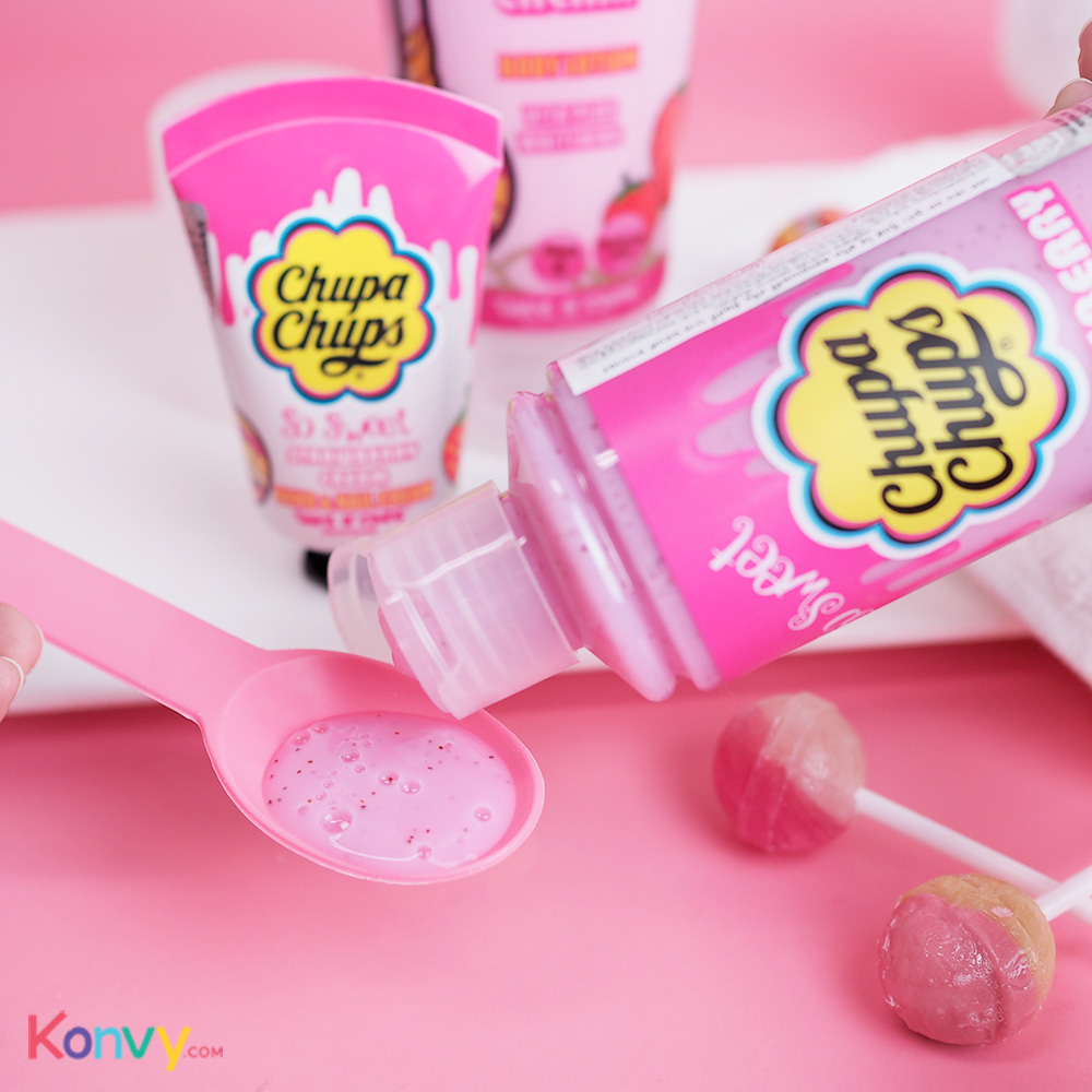 Chupa Chups So Sweet Milky Bath & Shower 250ml #Strawberry Cream_2