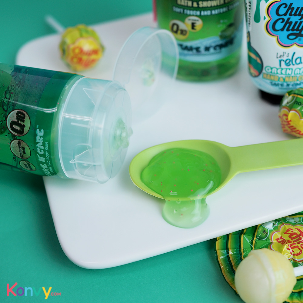 Chupa Chups Let's Relax Soothing Gel 200ml #Green Apple_2