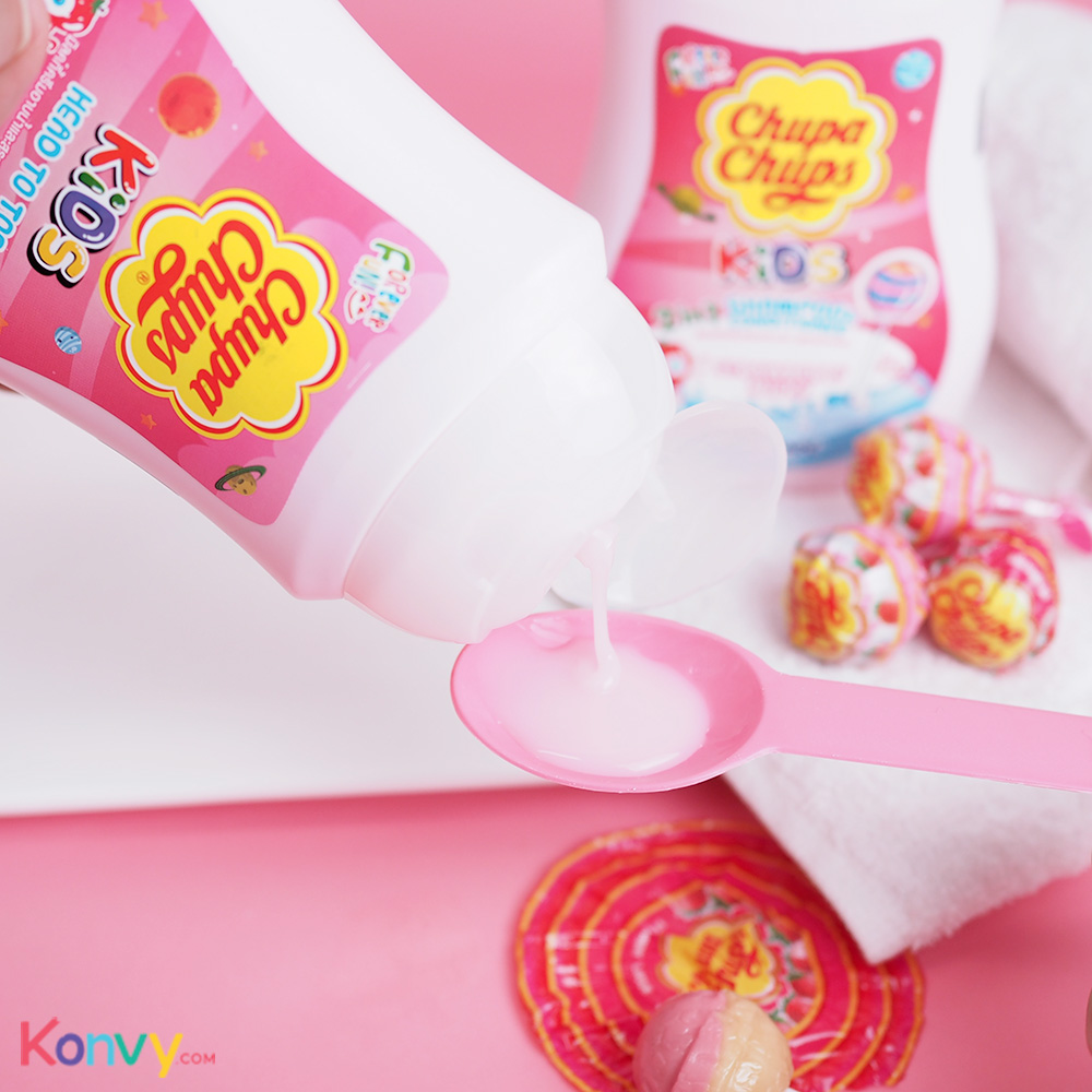 Chupa Chups Kids Head To Toe 250ml #Strawberry Milk_2