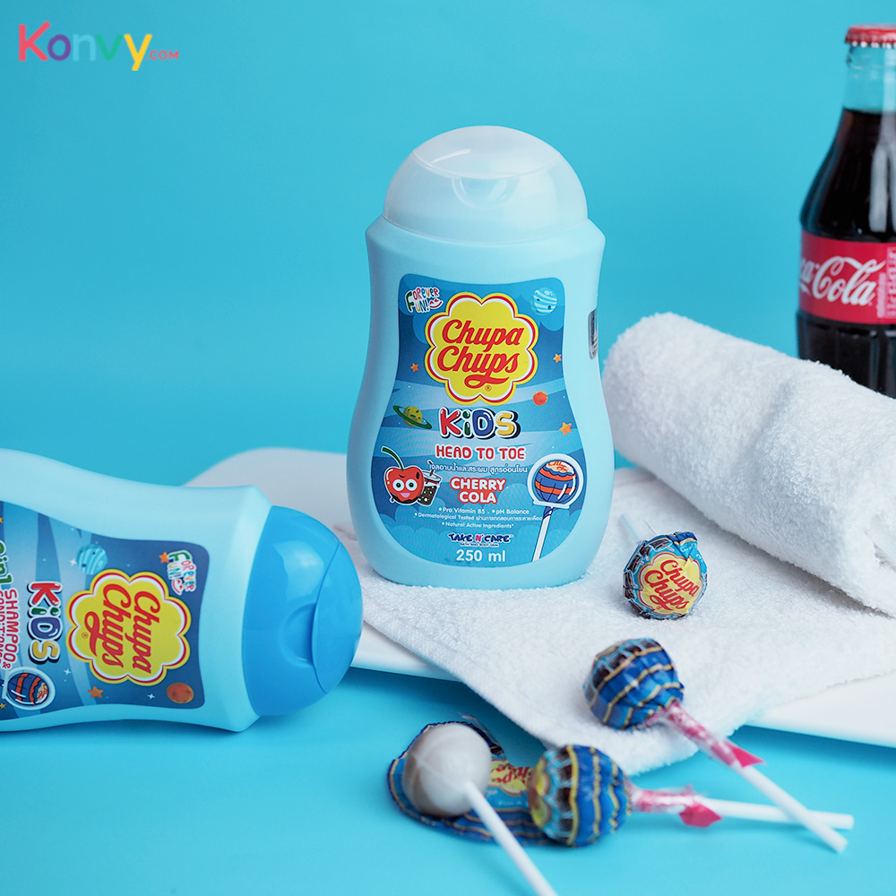 Chupa Chups Kids Head To Toe 250ml #Cherry Cola_1