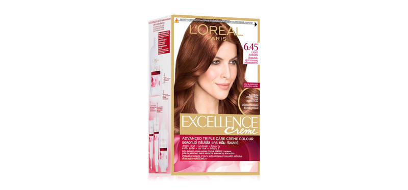 L'Oréal Paris Excellence 260g #6.45 Cop Maho Dark Blonde