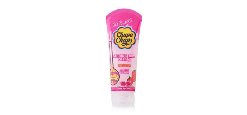 Chupa Chups So Sweet Body Lotion 200ml #Strawberry Cream