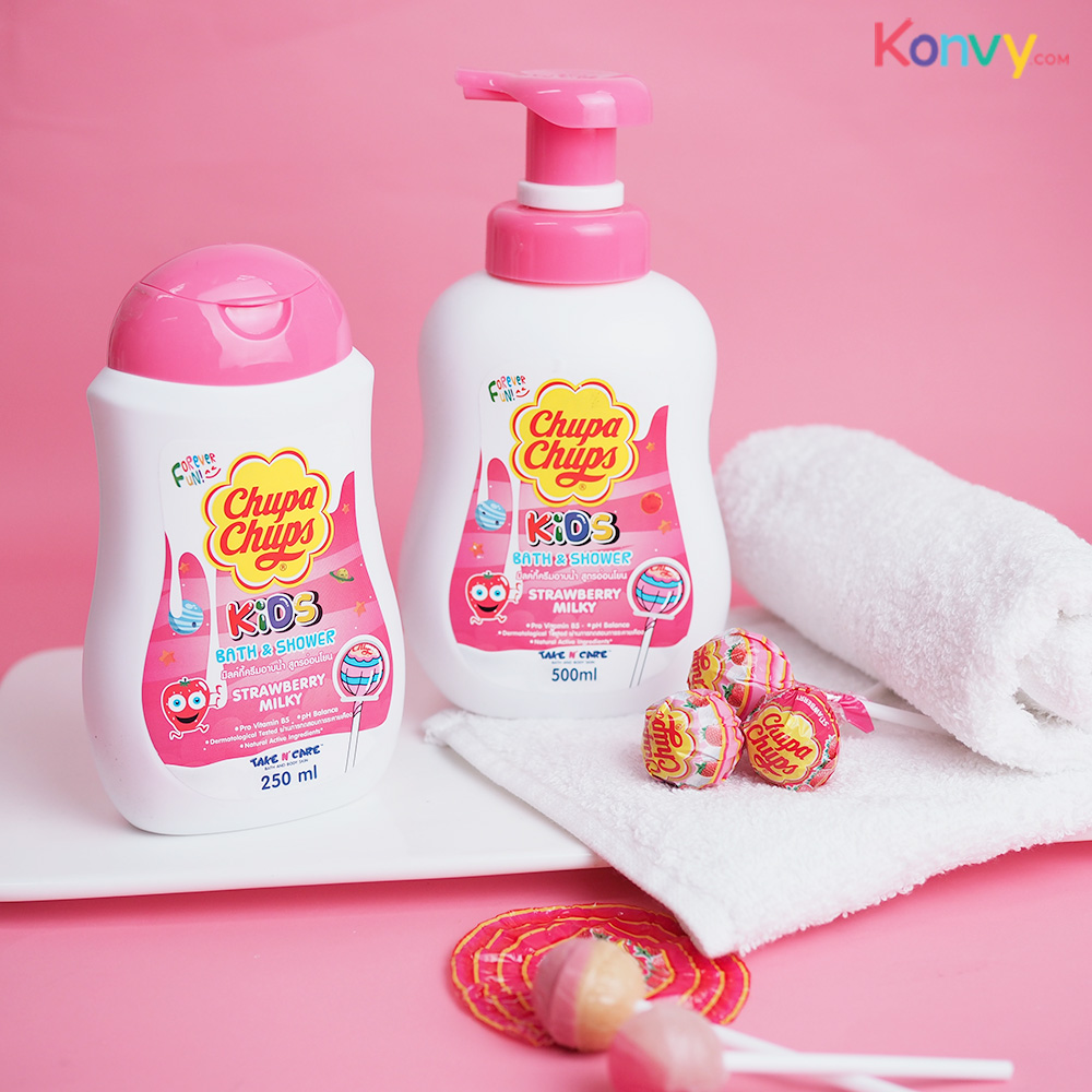 Chupa Chups Kids Bath & Shower #Strawberry Milk_1