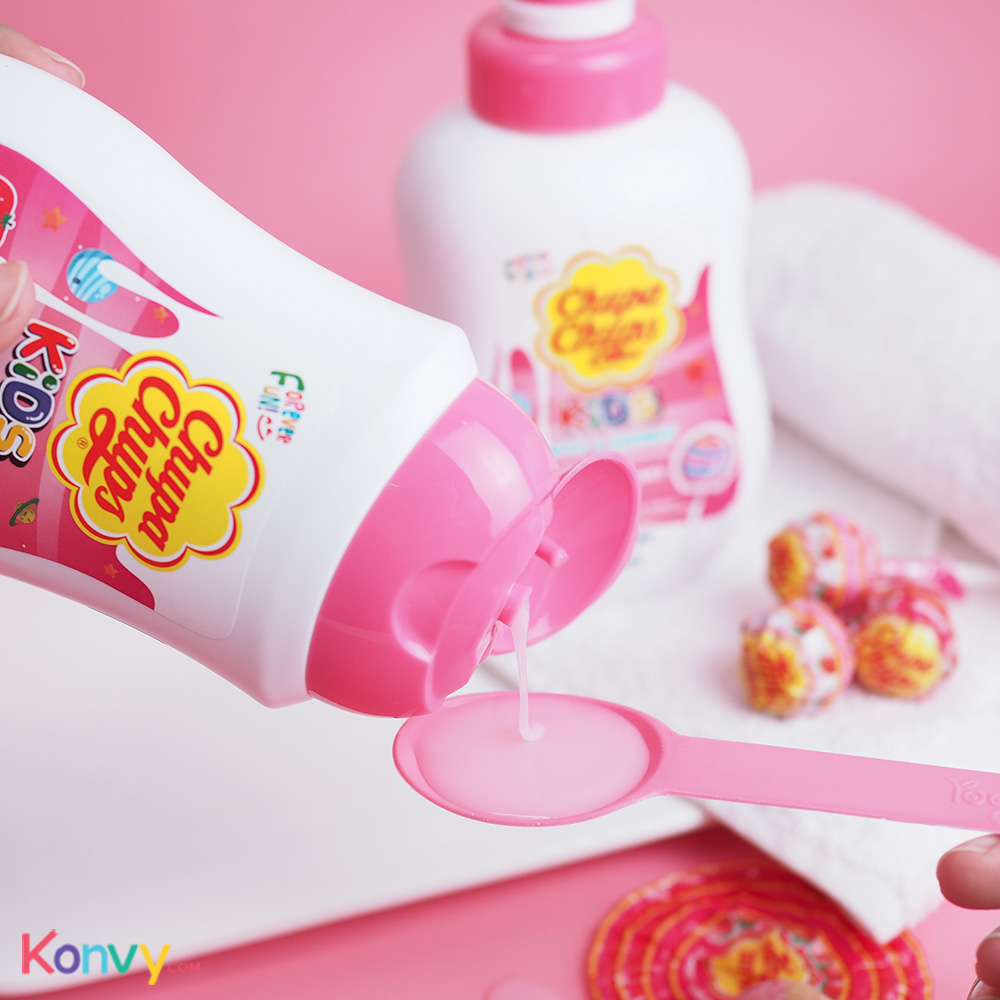 Chupa Chups Kids Bath & Shower #Strawberry Milk_2