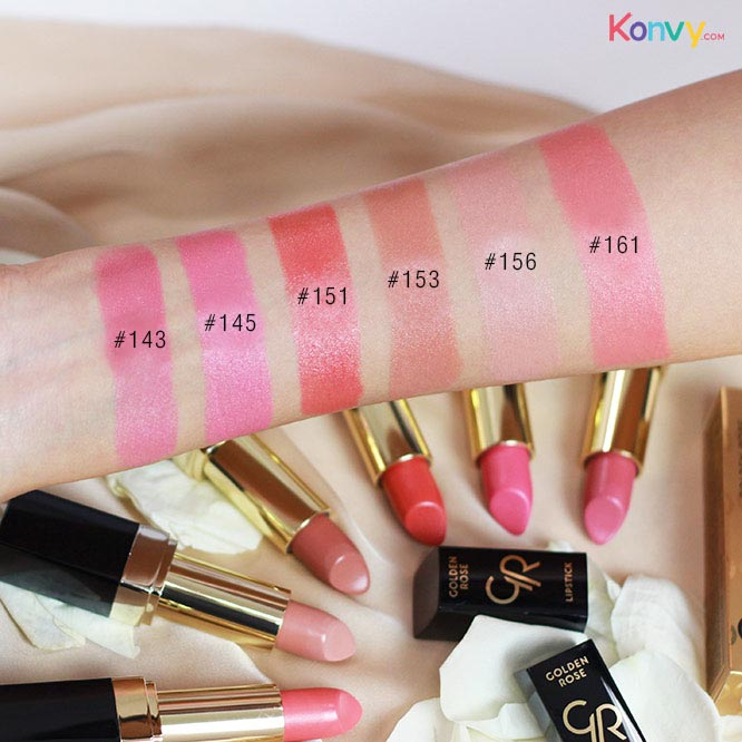 Golden Rose Lipstick Vitamin E #143_4