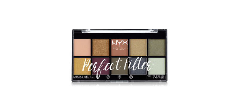 NYX Professional Makeup Perfect Filter Shadow Palette #Olive You
