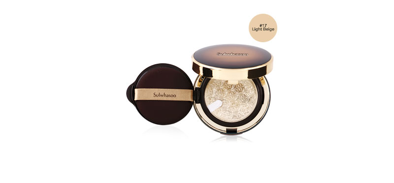 Sulwhasoo Perfecting Cushion Intense SPF50+/PA+++ (15gx2) # No.17 Light Beige