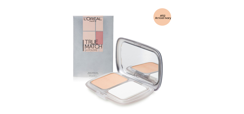 L'Oréal Paris True Match Micro-Perfecting Powder Foundation SPF36/PA+++ 9g #R2 Arricot Ivory