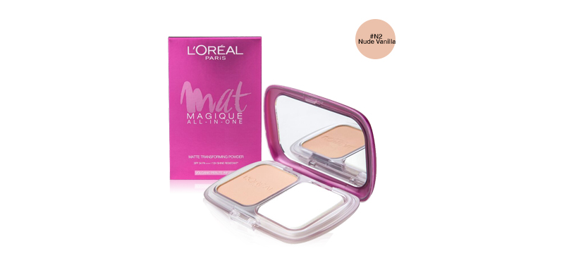 L'Oréal Paris Mat Magique All-In-One SPF34/PA+++ 6.5g #N2 Nude Vanilla