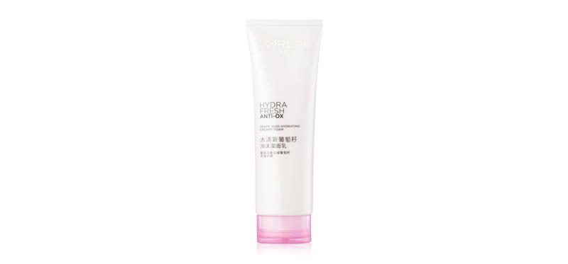 L'Oréal Paris Hydrafresh Anti-OX Grape Seed Hydrating Cream Foam 125ml
