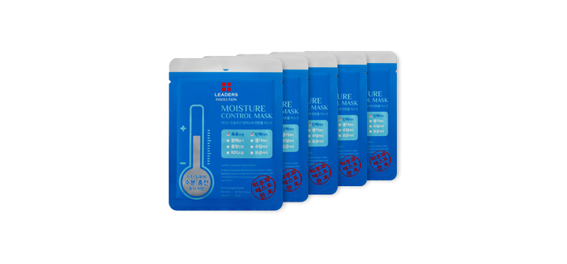 Leaders Insolution Moisture Control Mask 25ml Set 5 Sheets