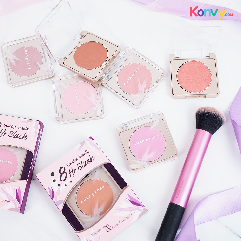 Cute Press Nonstop Beauty 8 hr Blush #02 First Love_1