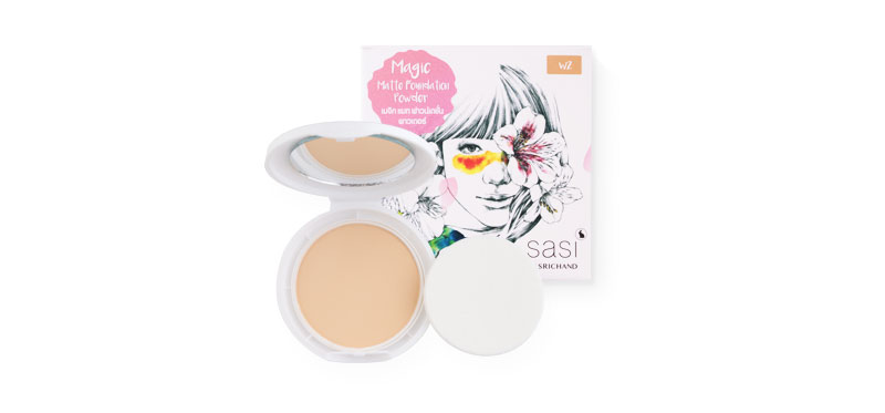 SASI  Magic Matte Foundation Powder 8.5g #W2