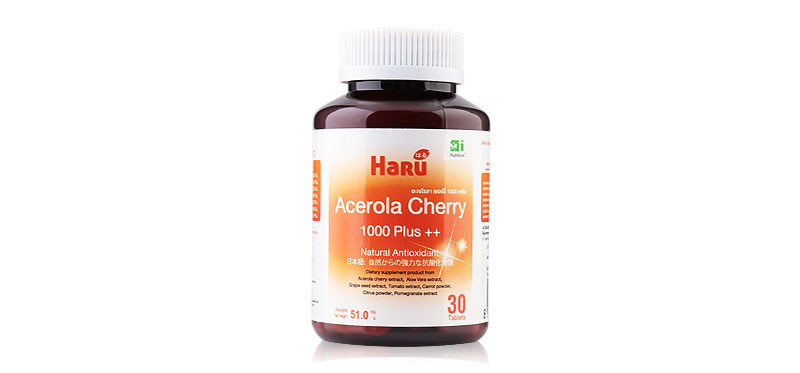 Haru Acerola Cherry 1000 Plus++ 30Caps