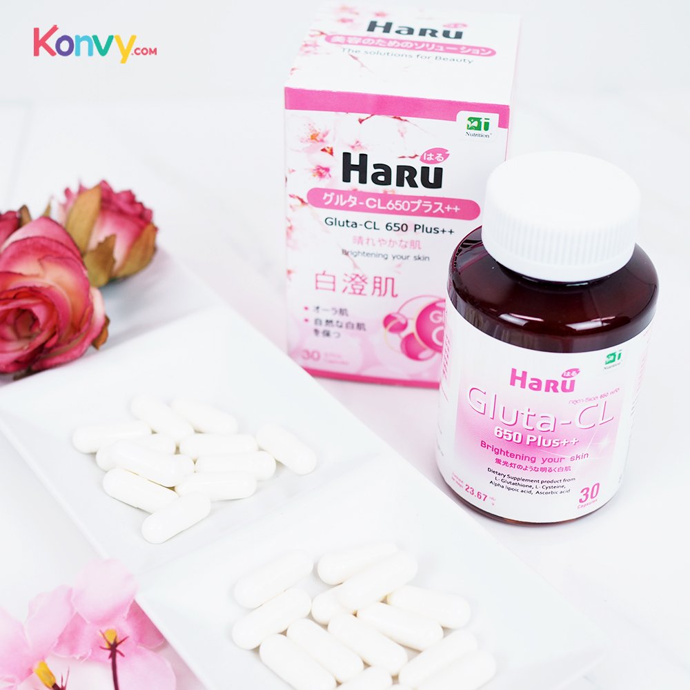 Haru Gluta-CL 650 Plus++ 30Caps_1