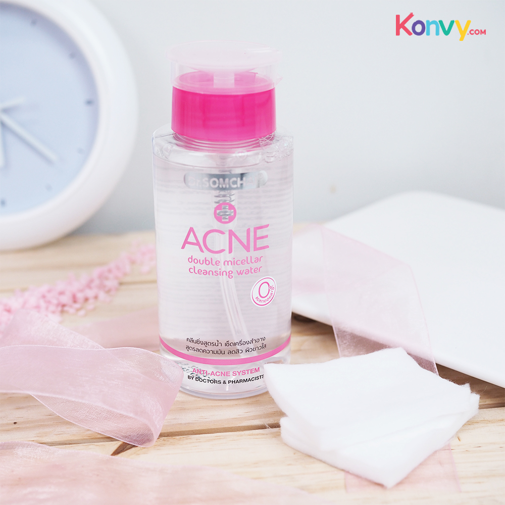 Dr.Somchai Acne Double Micellar Cleansing Water_1