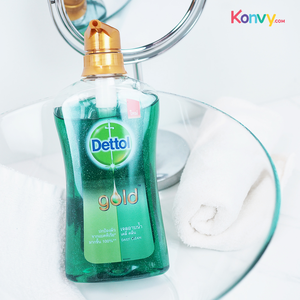 Dettol Gold Shower Gel Pump - Daily Clean_1
