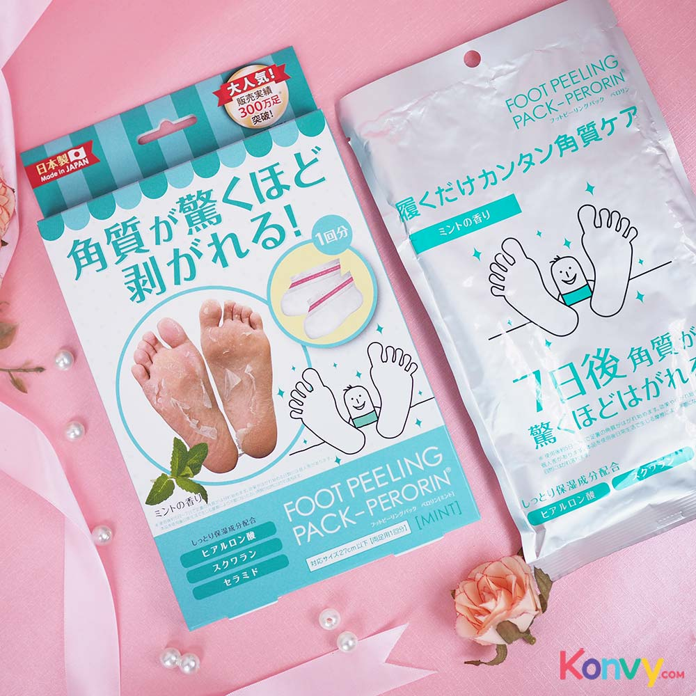 Perorin Foot Peeling Mint_1